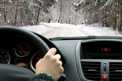 conduire en hivers